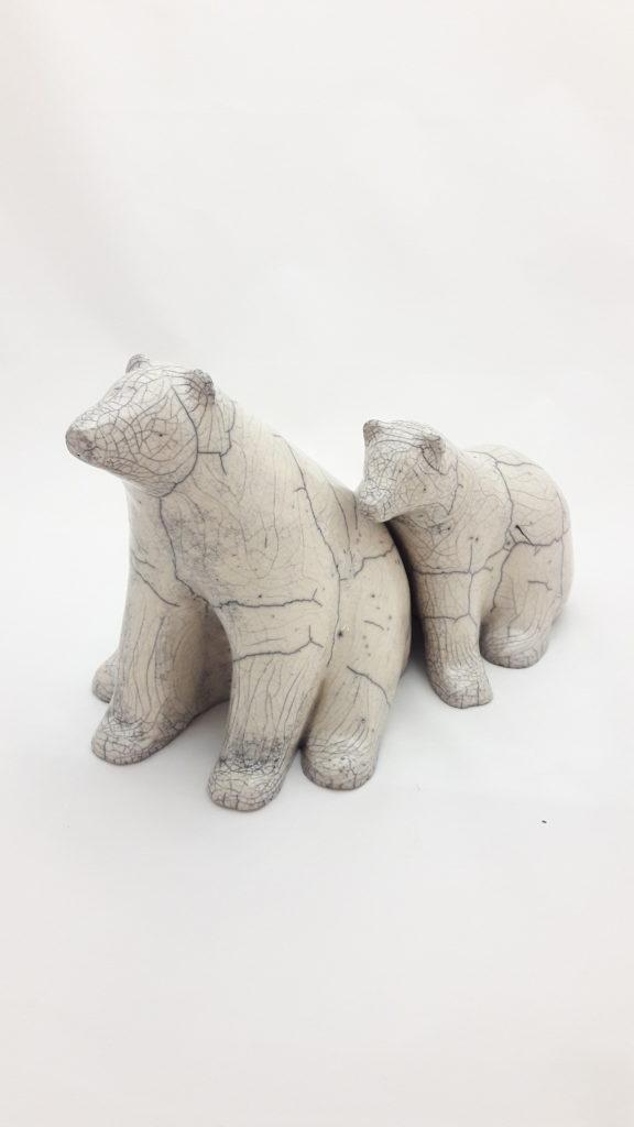 SabineHaugg Keramikkunst Eisbären