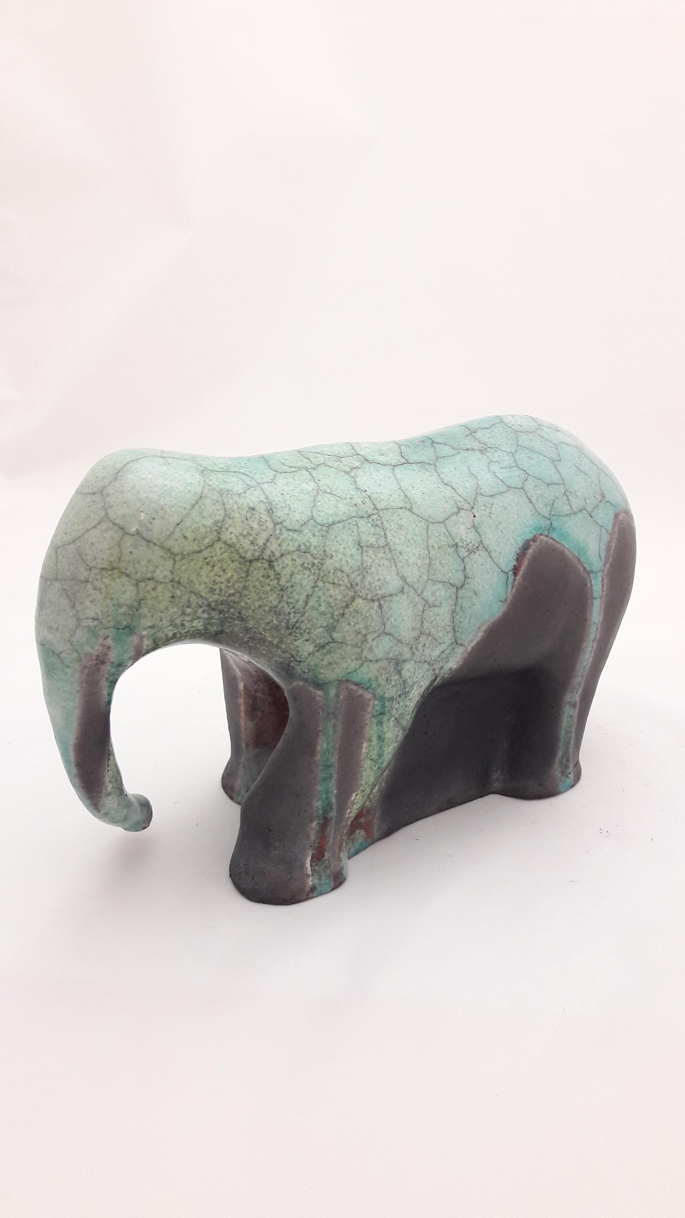 SabineHaugg Keramikkunst Elefant