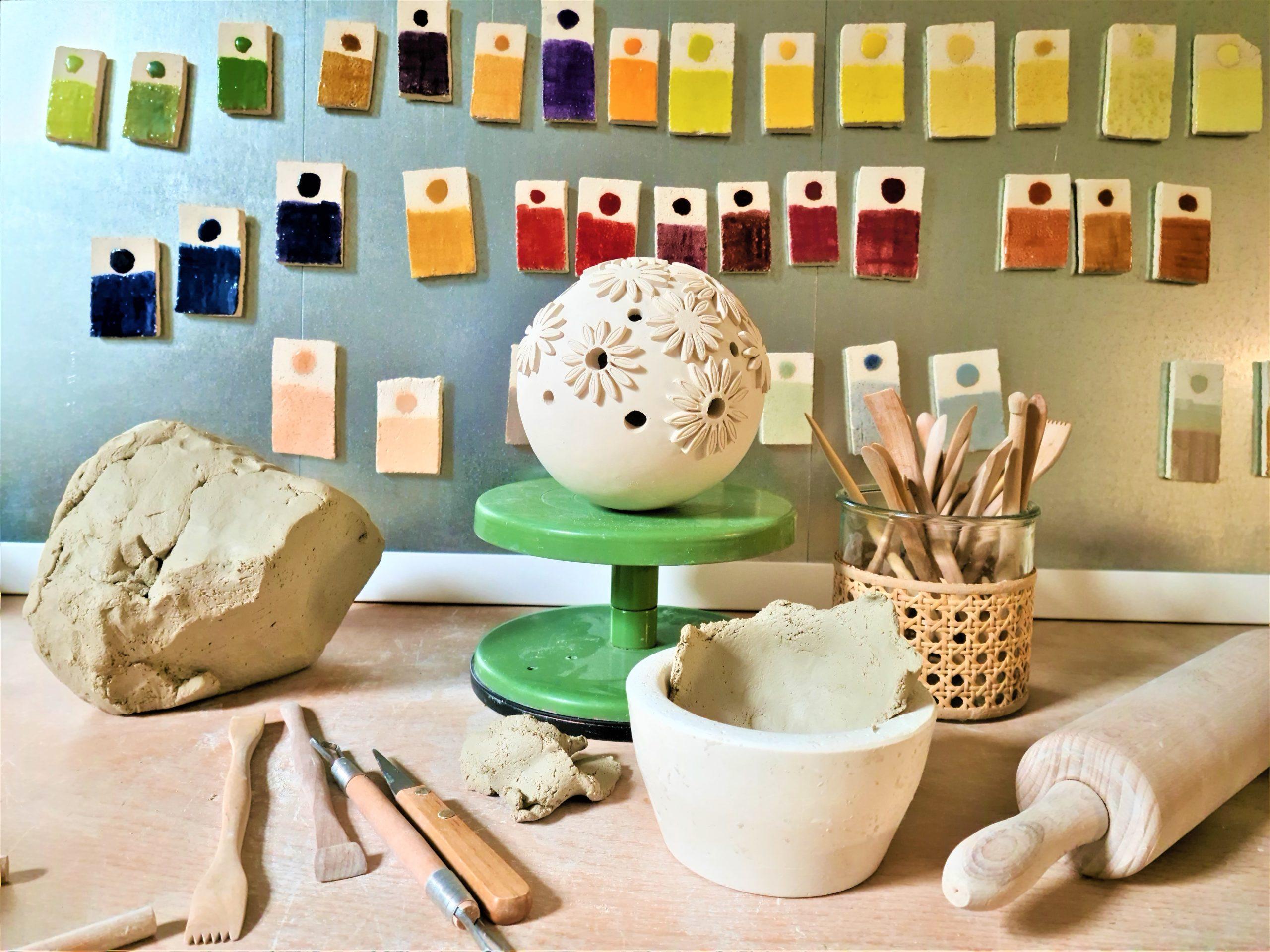 Sabine Haugg Keramikkunst, Atelier am Stadtpark